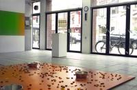 Reception space in gallery de Gele Rijder.